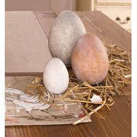 """Декоративные яйца """"Натуральные тона"""" 3шт."""