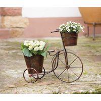 """Подставка для цветов """"Велосипед"""" металл"""