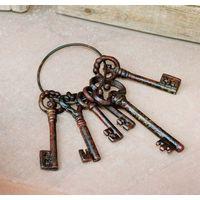 """Декоративное украшение """"Связка ключей"""""""