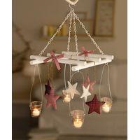 """Подсвечники - мобиле подвесные  """"Рождественские звезды"""""""