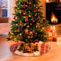 """Декоративное покрывало под елку """"Санта Клаус"""""""