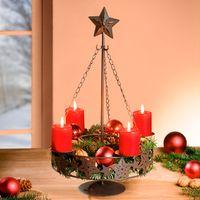 """Подставка для свечей """"Рождество"""", металл"""