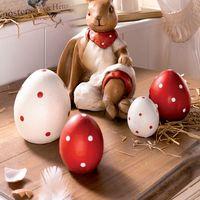 """Декоративные фигуры """"Пасхальные яйца"""" 4 шт."""