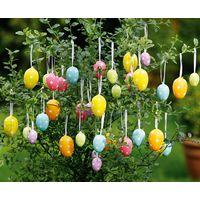 """Декоративные яйца """"Праздничные цвета"""", 36 шт"""